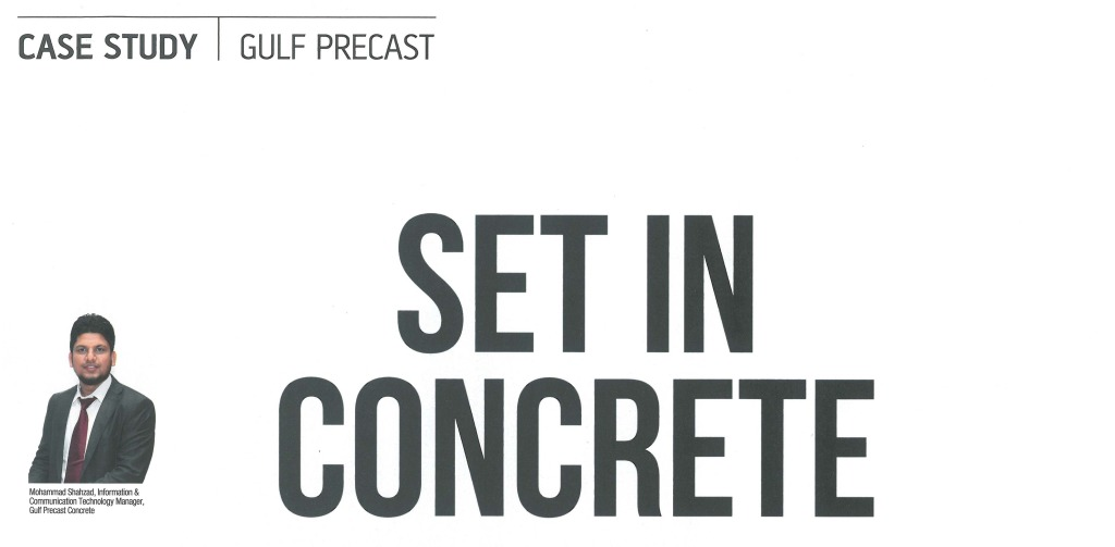 Set In Concrete – A Case Study