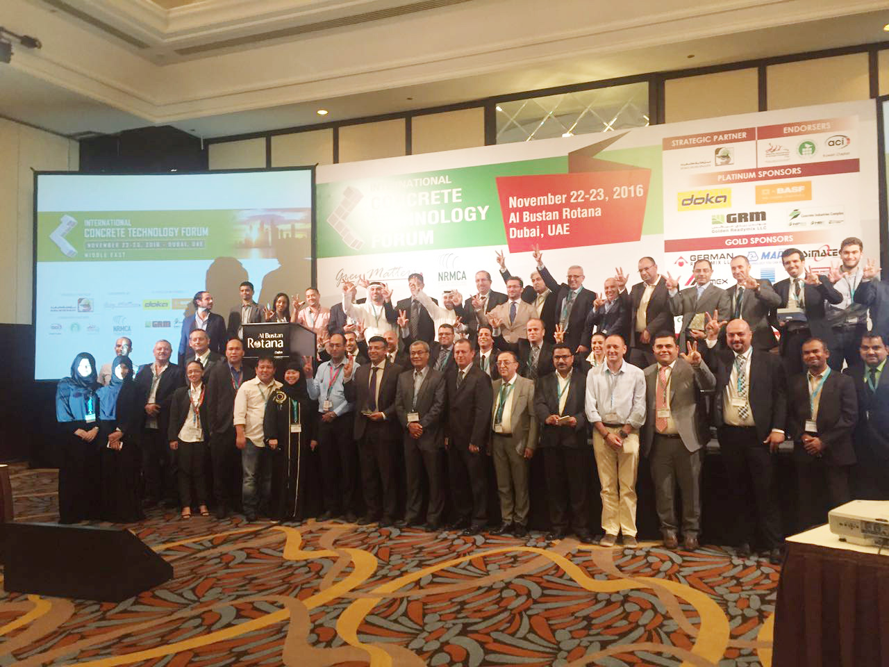 Gulf Precast obtained DCL's Gold Award 2016 for Best